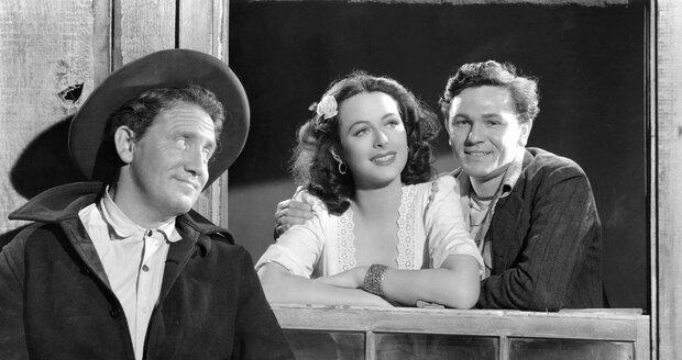 Hedy Lamarr ve filmu Pláň Tortilla