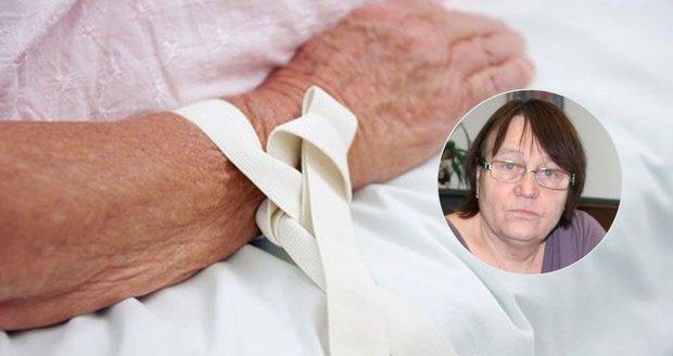 Šabatová brojí proti přivazování pacientů. Chce evidenci zákroků