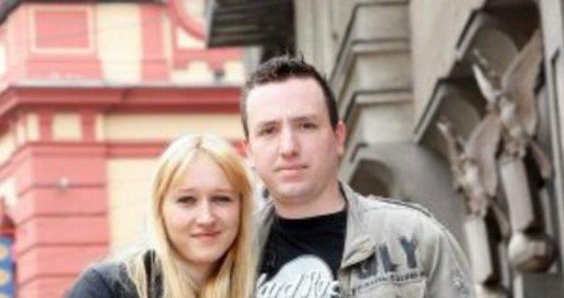 Lucie Gottová s manželem Janem posílají Mistrovi pozitivní energii.