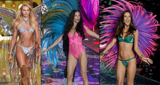 Andílci Victoria's Secret randí jenom s boháči.