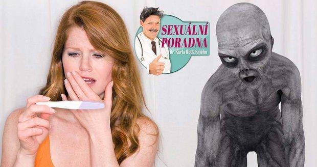 Dr. Karel Obdařený radí, co dělat, když vás oplodní mimozemšťan.