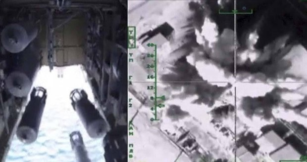 Rusové pořádají hon na ropu ISIS: Bombardéry postupně ničí rafinerie