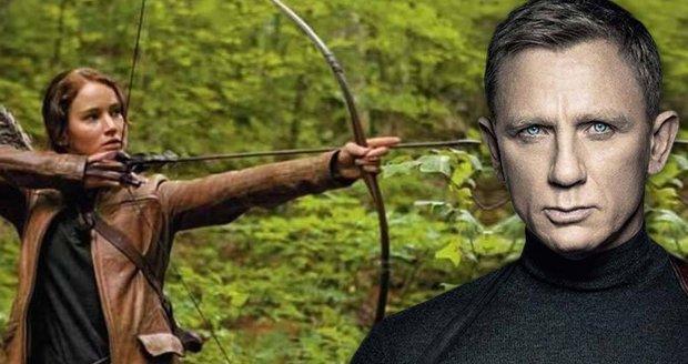"""Katniss """"sejmula"""" agenta 007. Nové Hunger Games lákají diváky víc než bondovka"""