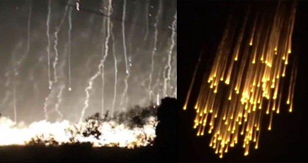 Déšť smrti: Zasypalo Rusko líheň ISIS bílým fosforem? Umírali i nevinní