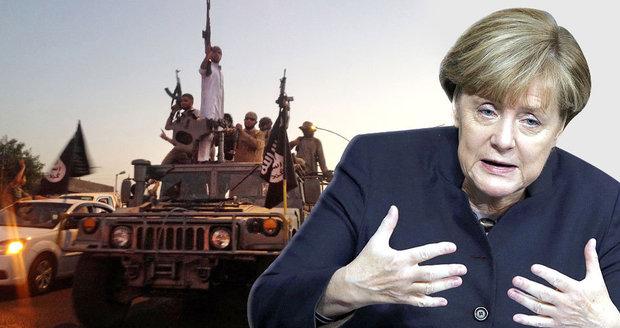 Vojáci, letadla a válečná loď: Merkelová jde do boje s Islámským státem