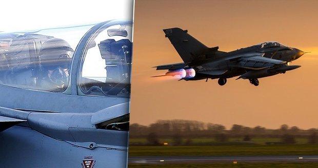 Britové uhodili na ISIS: Do Sýrie vlétla bojová Tornáda