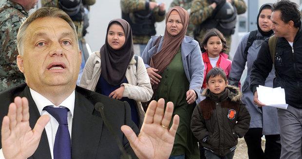 """""""Zvete do Evropy půl milionu uprchlíků."""" Orbán nařkl Merkelovou z utajené dohody"""