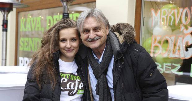 Herec Pavel Soukup s dcerou Patricií.