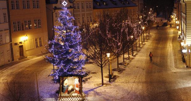 Zima v Česku zůstane: Bude dál sněžit, o Vánocích má být -6 °C
