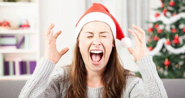 Nenechte se ovládnout vánočním šílenstvím!