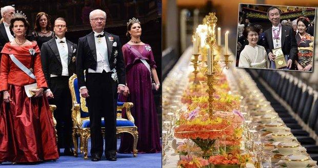 Pompézní předávání Nobelových cen: Galavečer pro zvané byl přehlídkou luxusu