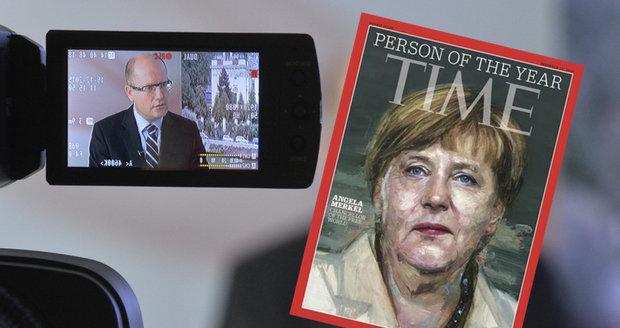 Merkelová přijede do Česka. Sobotka s ní chce bránit Schengen