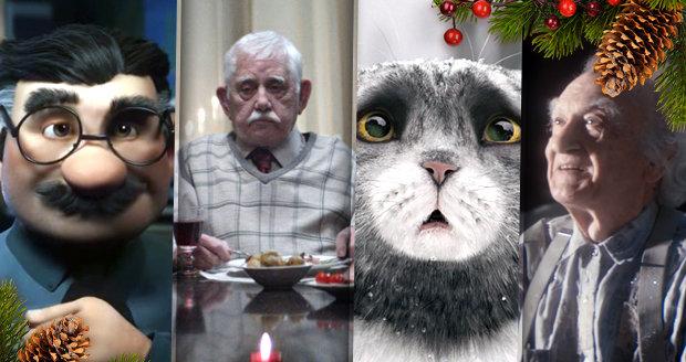 Jaké jsou letošní nejdojemnější vánoční reklamy?