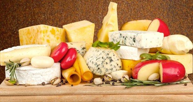 Sýry vybírejte hlavně podle obsahu tuku v sušině a pohled obsahu soli.