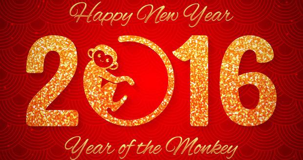 7. února 2016 začal nový lunární rok Ohnivé Opice