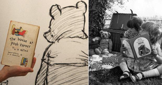 Milovaný Medvídek Pú oslaví 90. narozeniny. Fanoušci ho uctí hodem klacíku