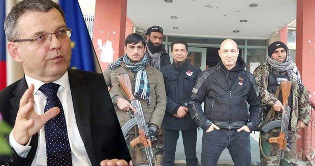 """Landa na tažení proti islamistickým """"skřetům"""" v Afghánistánu. Zaorálek varuje"""