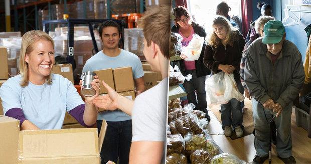 Prošlého jídla na charitu přibude. Obchodní řetězce se šikují k pomoci