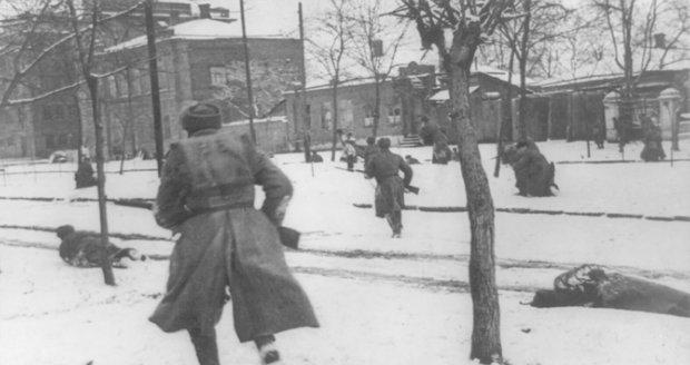 Sovětský voják během druhé světové války