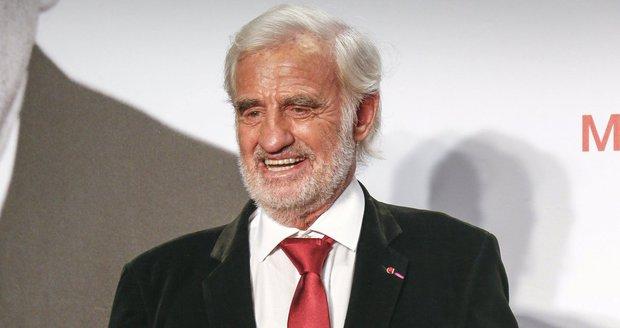 Jean-Paul Belmondo na snímku z roku 2015