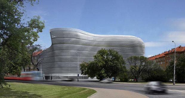 Takto má vypadat budova Ledního medvěda v Praze 6. Stavět se ale zřejmě nezačne.