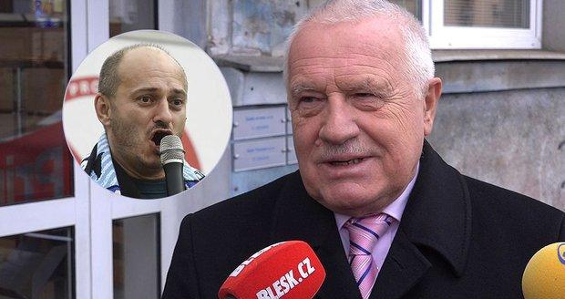 """Klaus: """"Až přijdou migranti do Prahy, bude pozdě."""" Co vzkázal Konvičkovi?"""