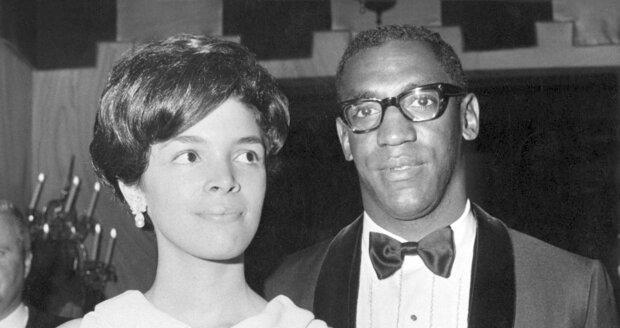 Bill Cosby se svou manželkou Camille