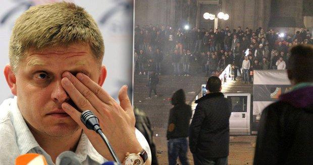 Fico žene kvůli sexuálnímu řádění v německých městech lídry EU do Bruselu