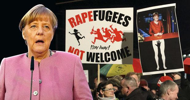 Přiznání Merkelové: Uprchlická krize se nám vymkla z rukou