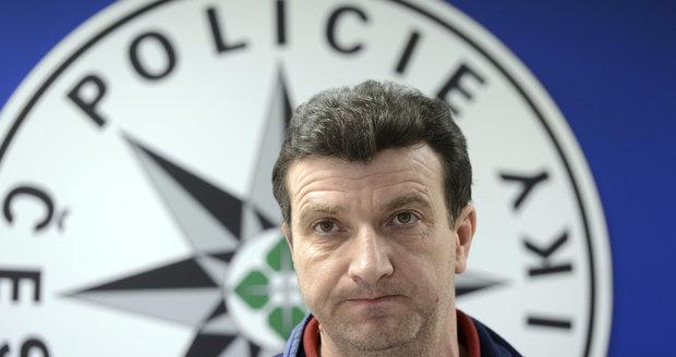 Šéf 1. oddělení pražské kriminálky Josef Mareš