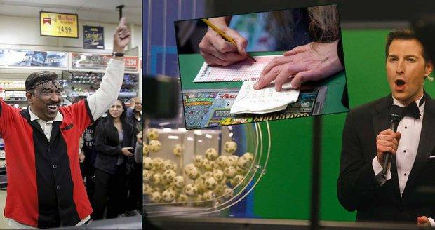 V USA padl rekordní jackpot. Majitelé tří tiketů si podělí 40 miliard korun