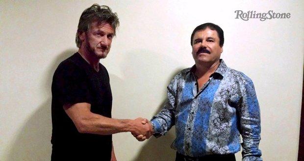 Sean Penn (vlevo) by si měl dát podle experta pozor na Prckův kartel.