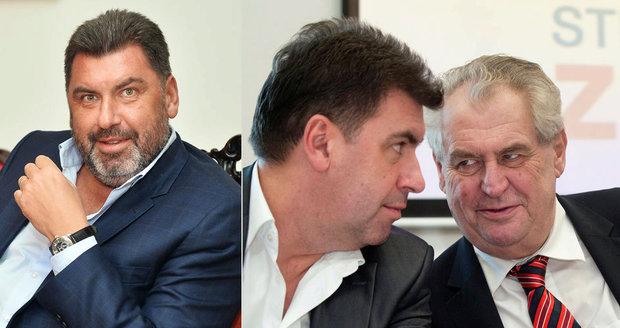 Zemanův poradce Nejedlý si pronajal Hrad k narozeninám. Platí za to?