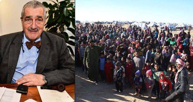 Bude-li to nutné, přijmu uprchlíky u sebe, řekl Schwarzenberg
