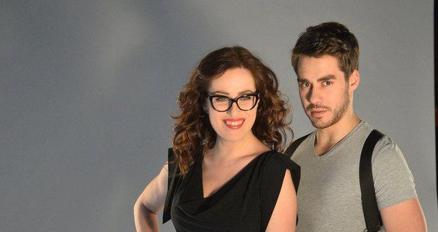 Soňu a Patrika Děrgela budou moct diváci zanedlouho vídat každý týden na televizních obrazovkách.