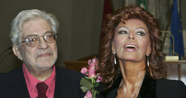 Ettore Scola rád točil například se Sophií Lorenovou