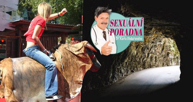 Dr. Karel Obdařený radí ženě, která si stěžuje na opotřebovanou vaginu z penisového rodea.