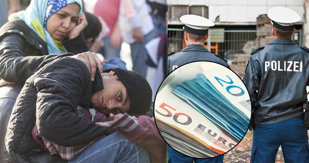 Němci začali migrantům zabavovat peníze. A rakouský plán o azylu čelí hněvu