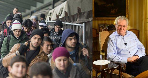 """""""Evropě vlastní armádu a migranty deportovat."""" Zeman promluvil pro Rusy"""