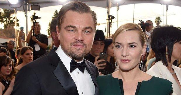 Leo a Kate si spolu zahráli ve filmu Titanic v roce 1997.