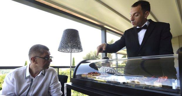 Babišovi sáhli na chloubu. Luxusní restauraci vzali jednu michelinskou hvězdu