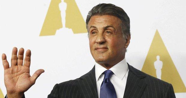 Sylvester Stallone na obědě před udílením Oscarů
