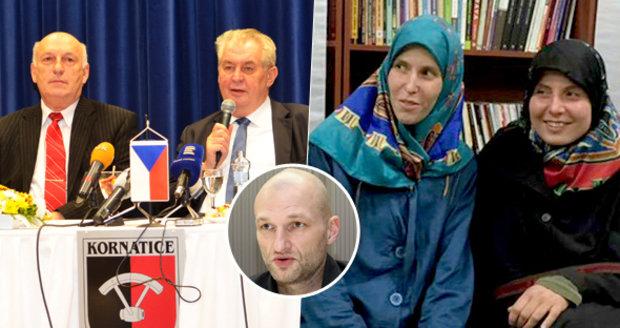 Expert vyjednavač: Zeman zkomplikoval návrat uneseného Čecha