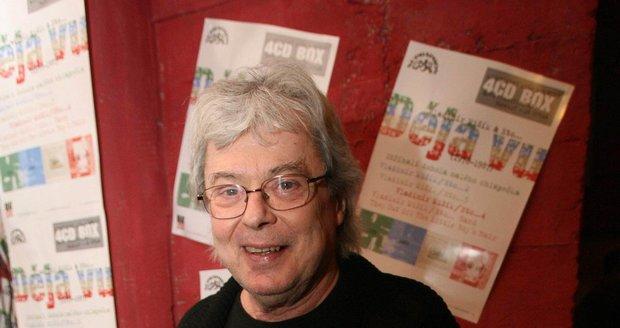 Musicien Vladimír Mišík.