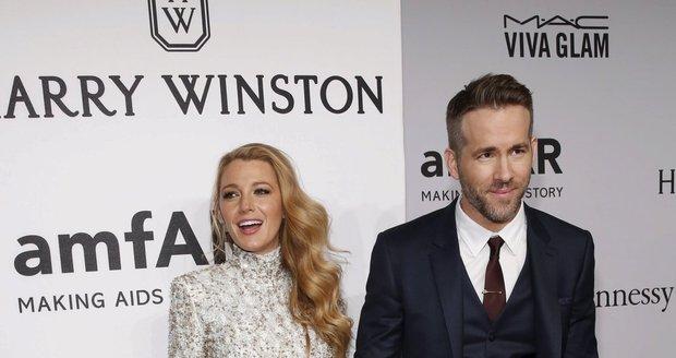 Ryan s manželkou Blake