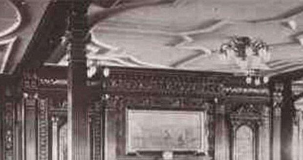 Kuřácký salónek na Titanicu byl určen pouze pro pasažéry z první třídy.