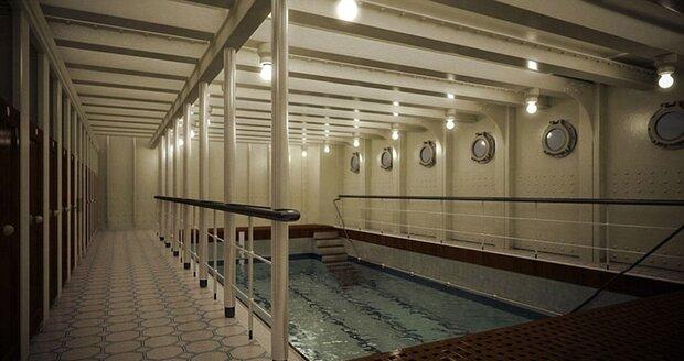 Vnitřní bazén na Titaniku II