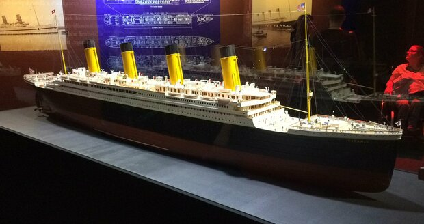 Model lodi Titanic.