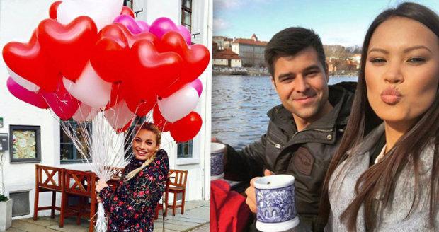 Jak celebrity slavily Valentýna?