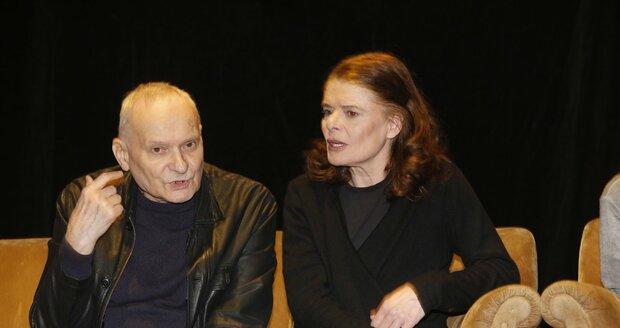 Zuzana s režisérem Ladislavem Smočkem